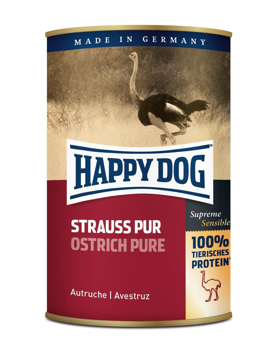 Happy Dog Boksemat 100% Struts 400g