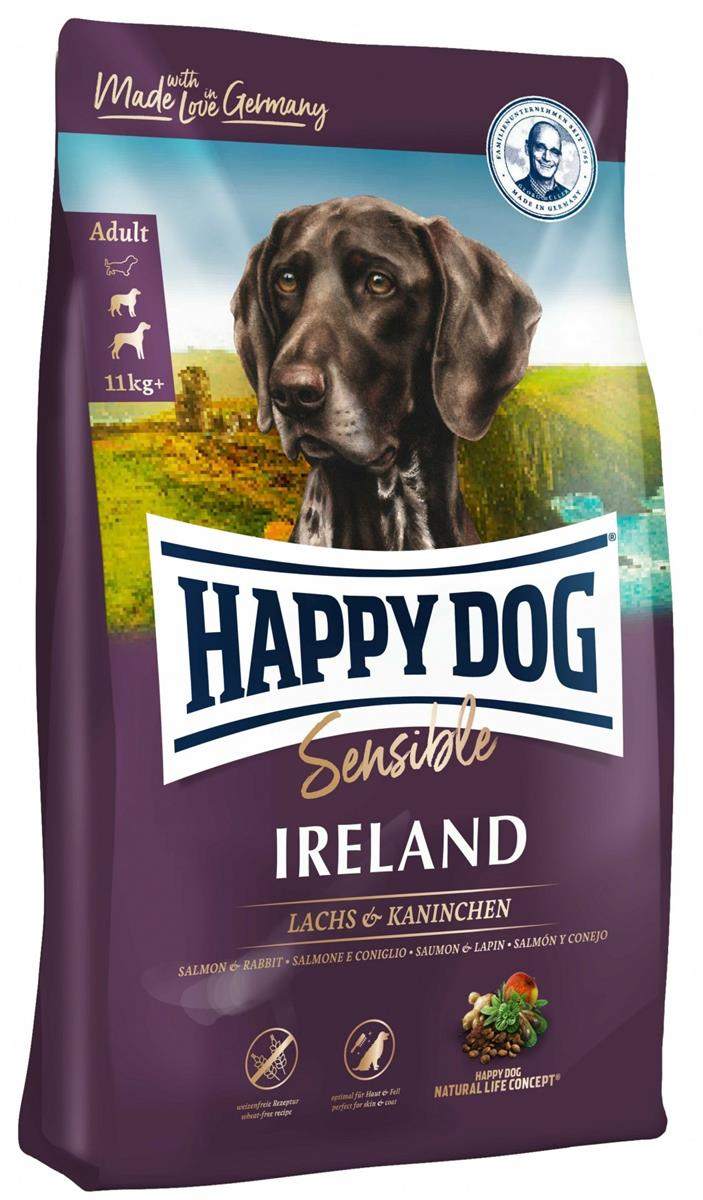 Happy Dog Supreme Sensitive Ireland 12,5Kg M/12% Laks & Kanin