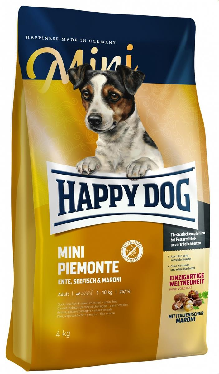 Happy Dog Supreme Sensitive Mini Piemonte 4Kg M/And & Saltvannsfisk