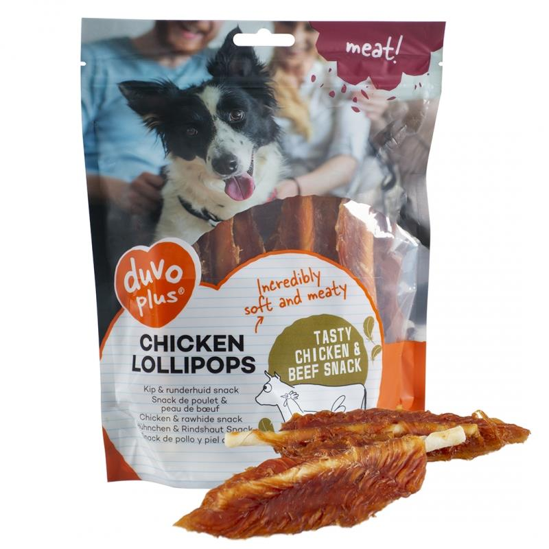 Chicken Lollipops 400g Duvo Plus (4stk)