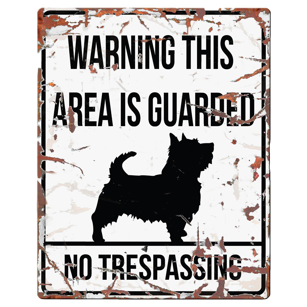 Warning Sign Terrier