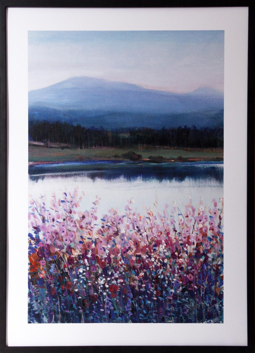 Bilde Lakeside Mountain I 50x70