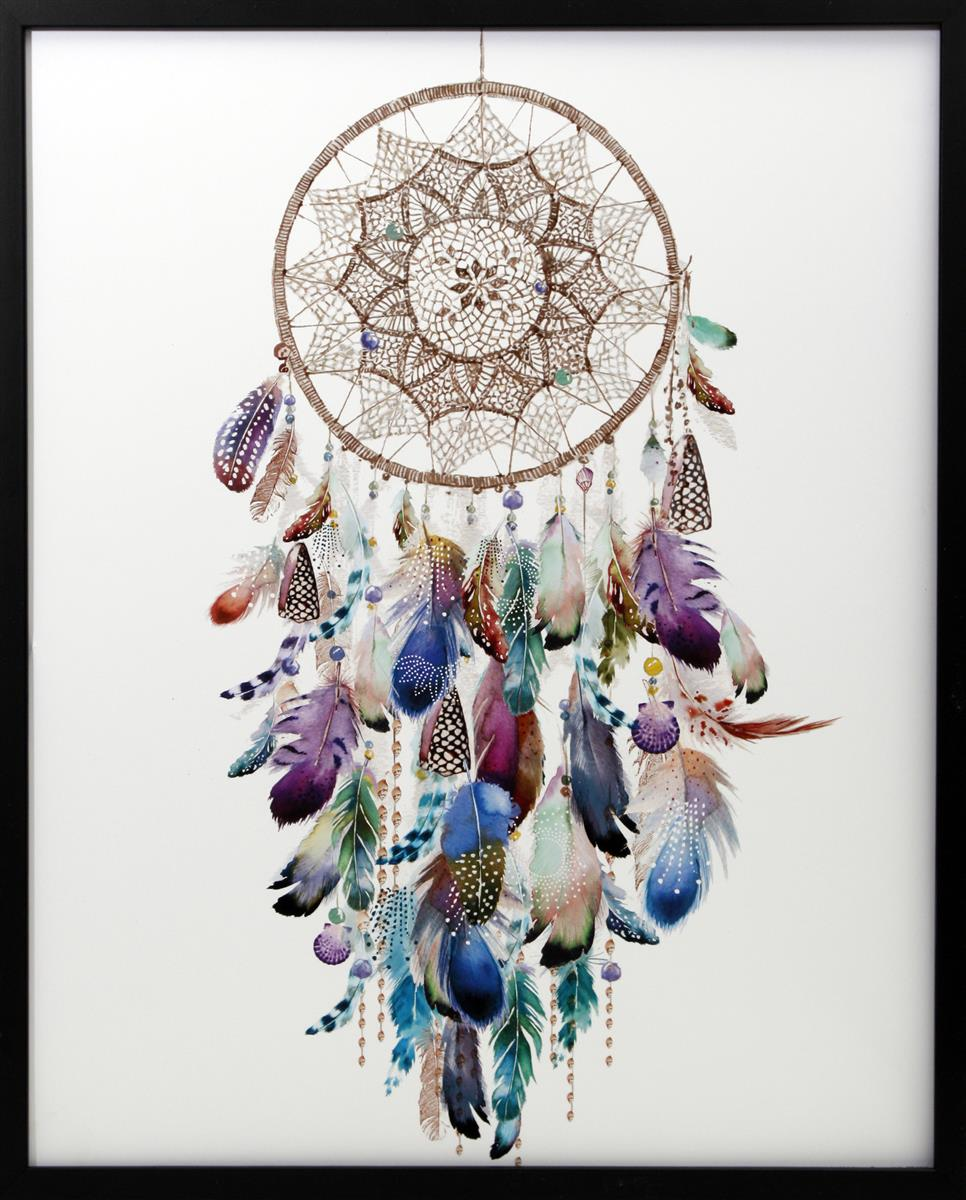 Bilde Dreamcatcher Colourful 40x50