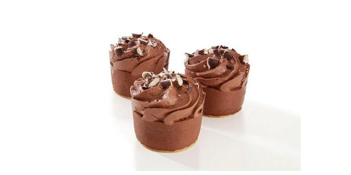 Tartlets double chocolate 4x12stk Marexim(x)