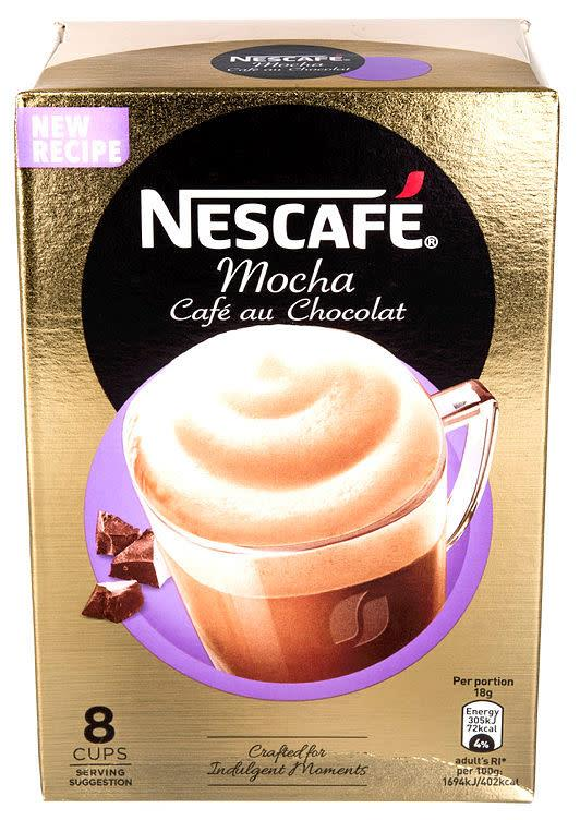 Cafe Au Chocolate 6x8poser Nescafe(x)