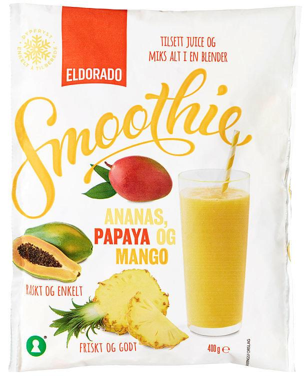 Smoothie Mix Ananas/mango/pap(gul) 10x400g***