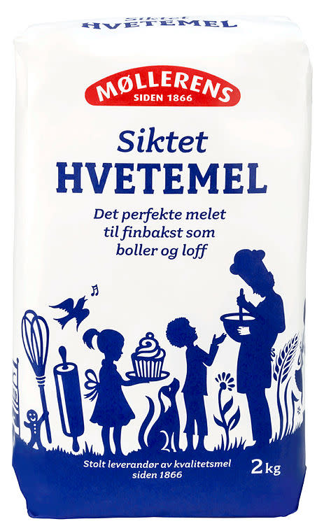 Hvetemel 4x2 kg Regal