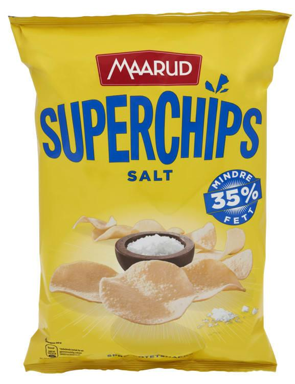 Superchips salt 15x140g Maarud(x)