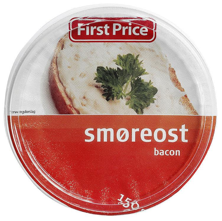 Smøreost Bacon 12x150gr Beger F.P(x)