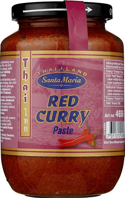 Red curry paste 12x470gr S.M(x)