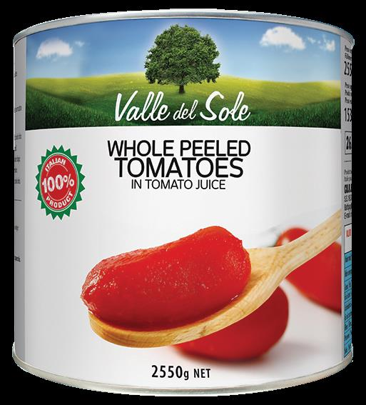 Tomater Hele Valle Del Solle 6x3kg***