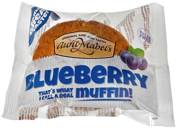 Muffins blueberry Aunt Mables 16x100g Single pk