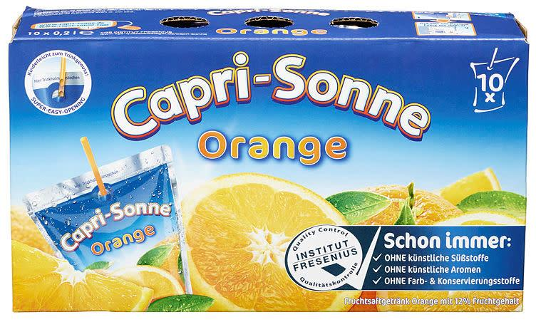 Capri Sonne orange 4x 10x200ml(x)