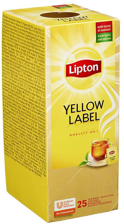 Lipton Yellow label 6x25pos(x)