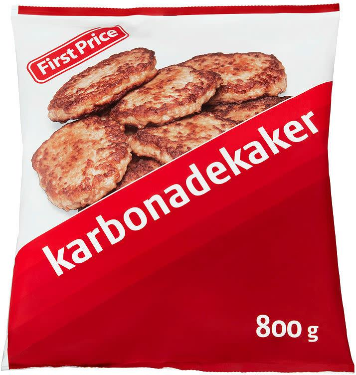 Karbonader 5x800gr First Price(x)
