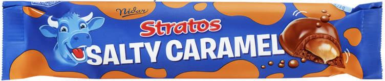 Stratos salty caramel bar 36x37gr(x)