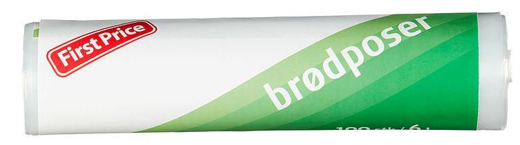 Brødposer 6 ltr 24x100stk First Price