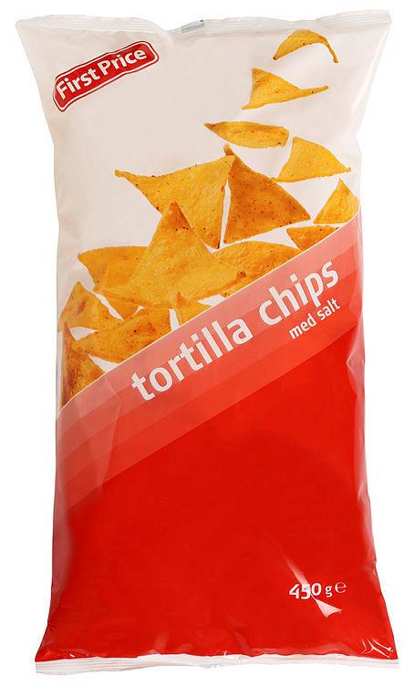 Tortilla chips First price 12x450g
