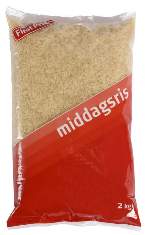 Middagsris 6x2kg First Price(x)