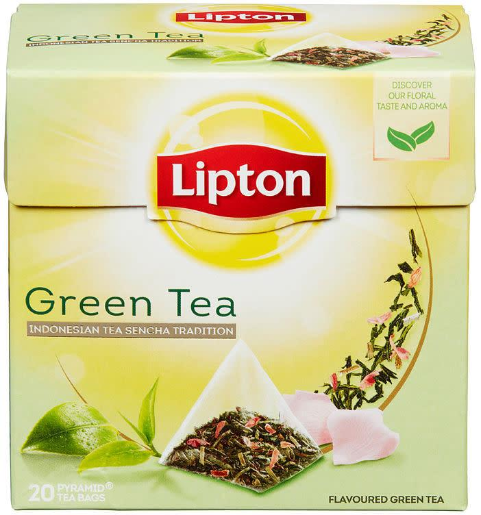 Green Tea Indonesian 12x20ps Lipton(x)