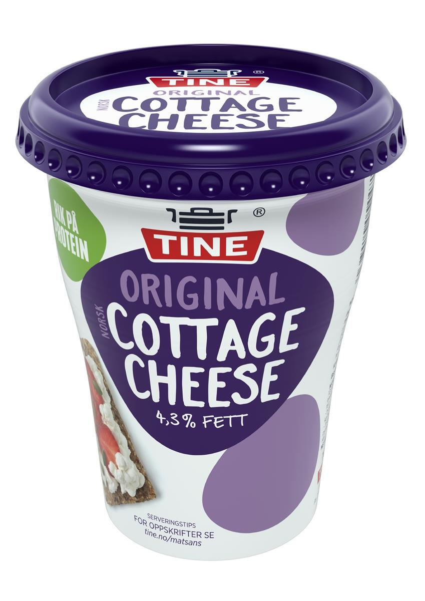 Tine Cottage Cheese Original, 6x3(x)