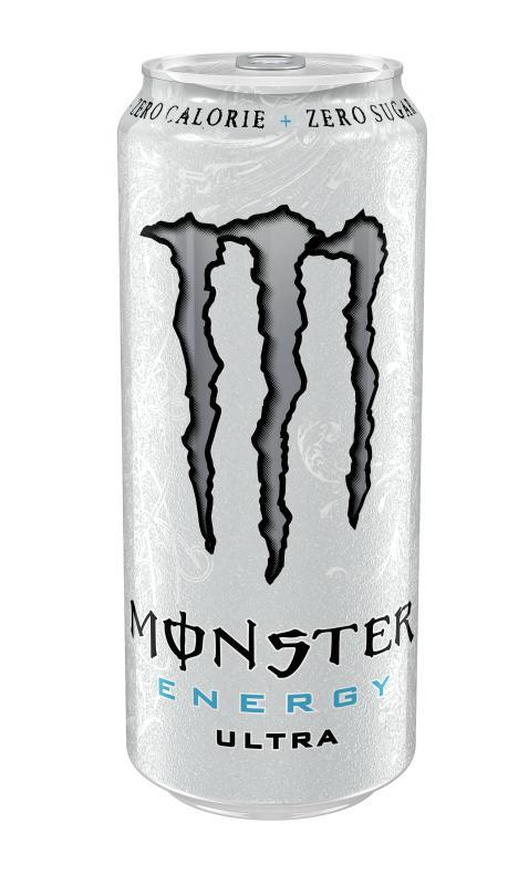 Monster ultra white bx 0.5 l x 24