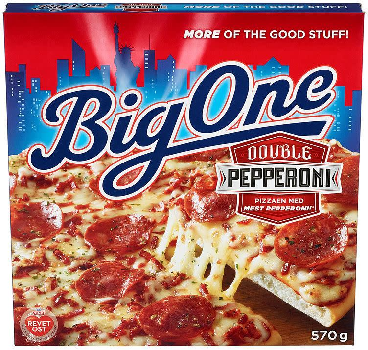 Big One Double Pepperoni 7x570gr(x)