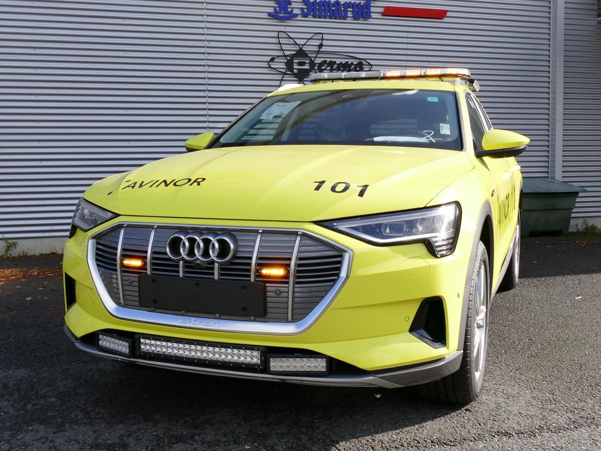Audi e tron til Avinor Stavanger Lufthavn Spesialbiler