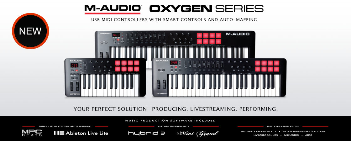 M-Audio Oxygen MKV