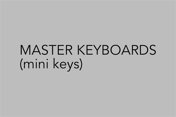 Midi Keyboards Mini keys