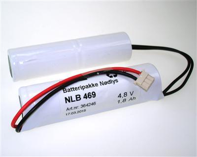 NLB 469 (4,8V1,8Ah-S2-Plugg 31)