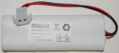 NLB 602 (7,2V1,8Ah-Sx2-Plugg 22)