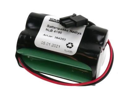 NLB 4100 (4,8V-1,7Ah-R2-Plugg 28)