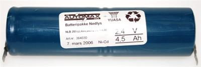 NLB 203  (2,4V4,5Ah-S-Fl.-4,8 +4,8)