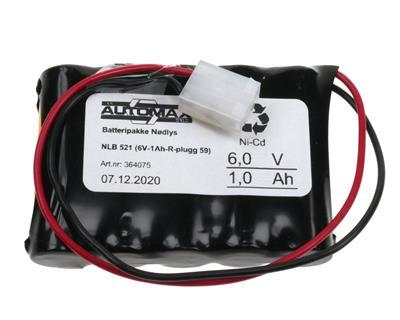 NLB 521(6V1,0Ah-R-Plugg)