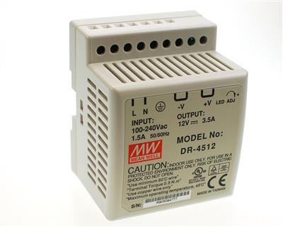 Lader 12V-3,5A (bly) DR4512