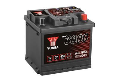 YBX3012 12V 50Ah (CCA 420)(+H)(E)