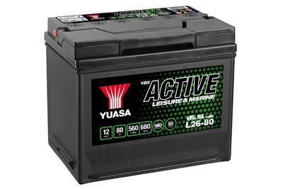 Active L26-80 (12V-80Ah)
