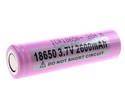 Li-Ion ICR18650-26HM 2600mAh (Samsung)