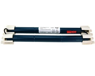 NLB 616 (7,2V4,0Ah-Sx2-hunn2,9mm+hann2,9)
