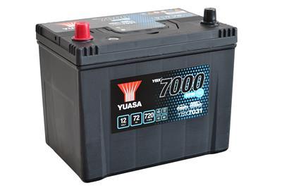 YBX7031 (12V 72Ah 760A)