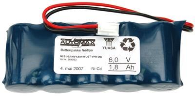 NLB 525 (6V1,8Ah-R-Plugg 13)