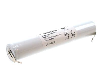 NLB 391 (3,6V-1,8Ah-S-Plugg +2,9-6,3)