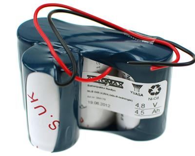 NLB 448 (4,8V4,5Ah-R-ledninger)