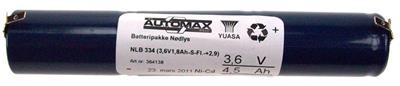 NLB 334 (3,6V1,8Ah-S-Fl.-+2,9)