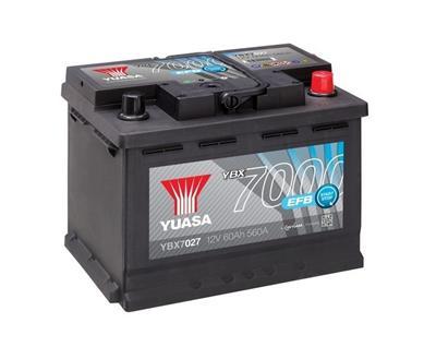 YBX7027 (12V 60Ah 560A)