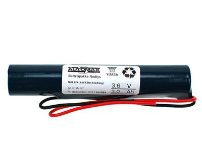 NLB 329 (3,6V3,3Ah-S-ledninger)