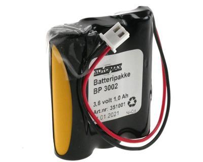 BP 3002 (3,6V-1,0Ah-Plugg 33)