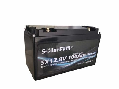 SX12V100Ah-P (LiFePo4 batteri)