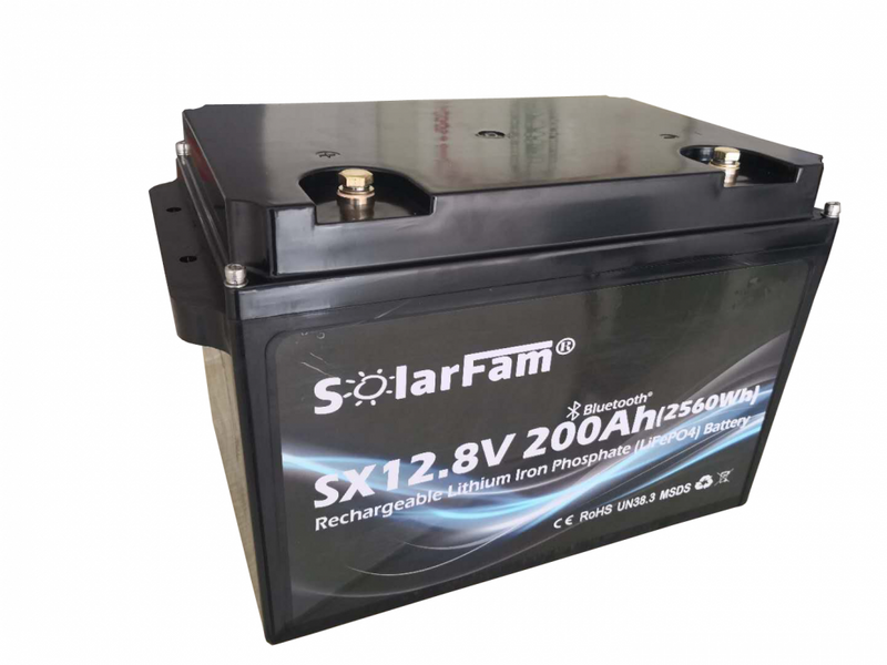 SX12V200Ah-P (LiFePo4 batteri)